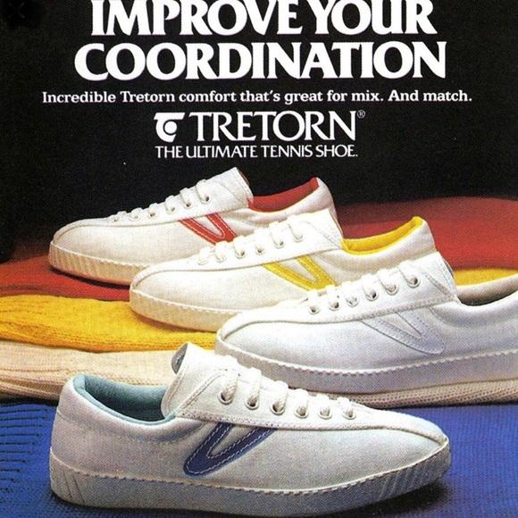 Tretorn Shoes | Vintage Tretorn Plaid